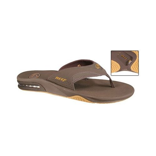 reef fanning bottle opener sandals. Black Bedroom Furniture Sets. Home Design Ideas