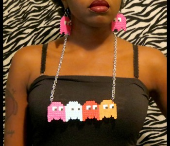 pacman-necklace