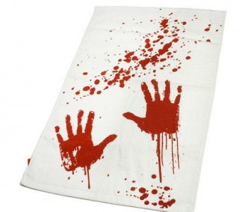 bloody-towel