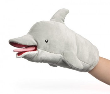 dolphin-puppet