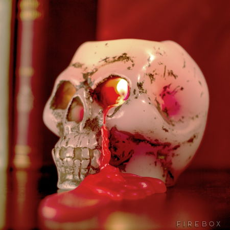 bleeding-skull-candle