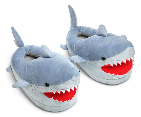 shark-plush-slippers