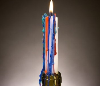 multicolored-candle