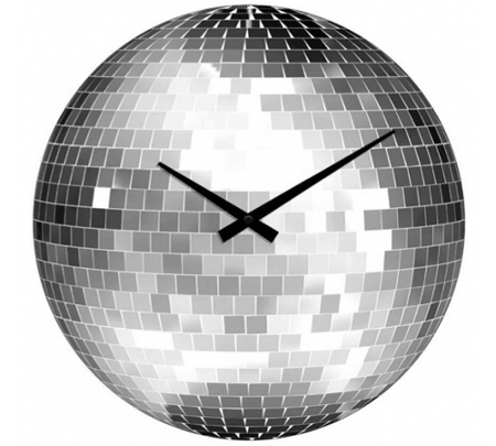 disco-ball-wall-clock