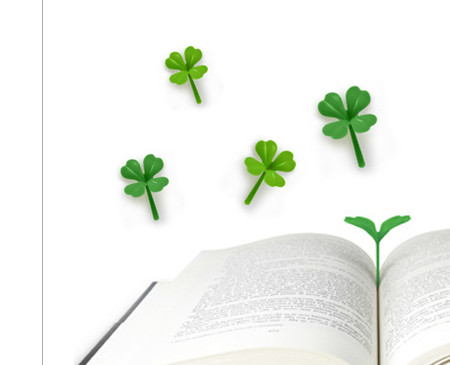 lucky-sprout-clover-bookmarks