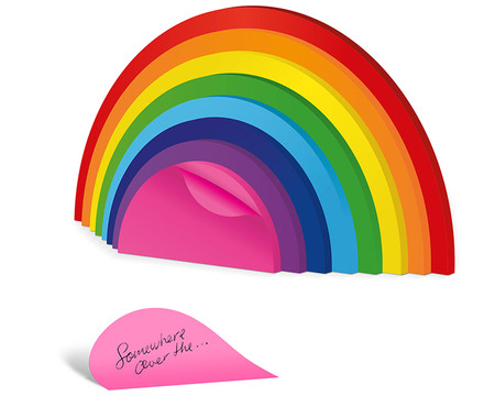 rainbow-sticky-notes